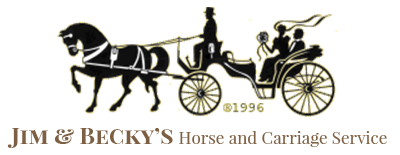Jim & Becky's Horse & Carriage Service, Logo